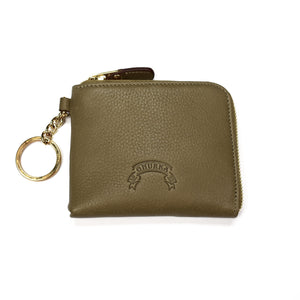 Ghurka - Military Khaki Leather Chain Wallet