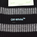 Off-White - Black Inside-Out Logo Socks