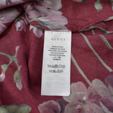 Gucci - Red Blooms Print Viscose Shirt