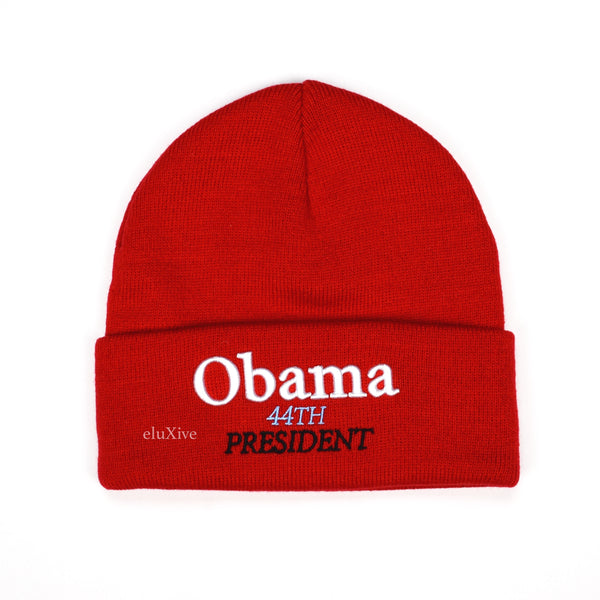 Supreme - Obama Logo Beanie (Red)