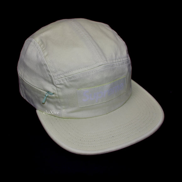 Supreme - Lime Box Logo Hidden Pocket Hat