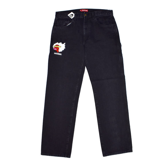 Supreme - Black Denim Gonz Jeans
