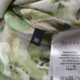 Gucci - Beige Blooms Print Viscose Shirt