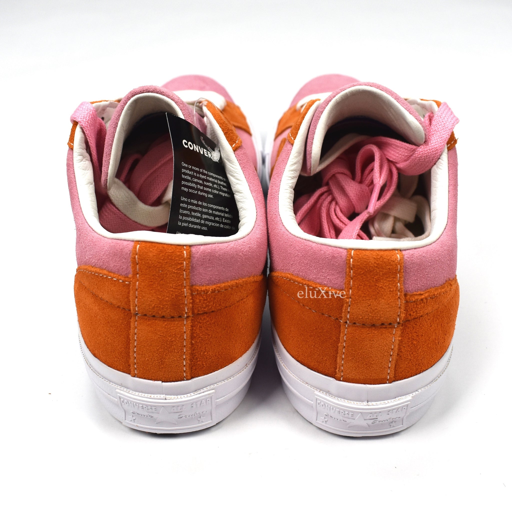 Converse - Golf Le Fleur Sneakers (Pink/Orange)