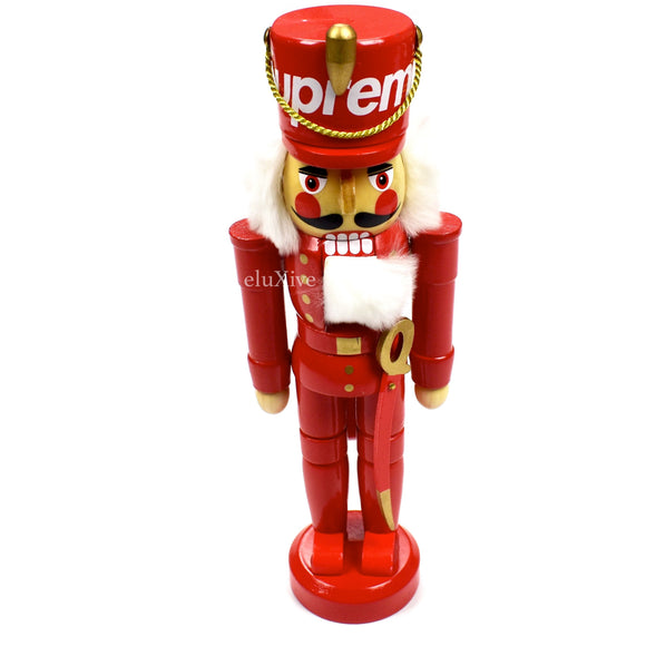 Supreme - Red Box Logo Nutcracker