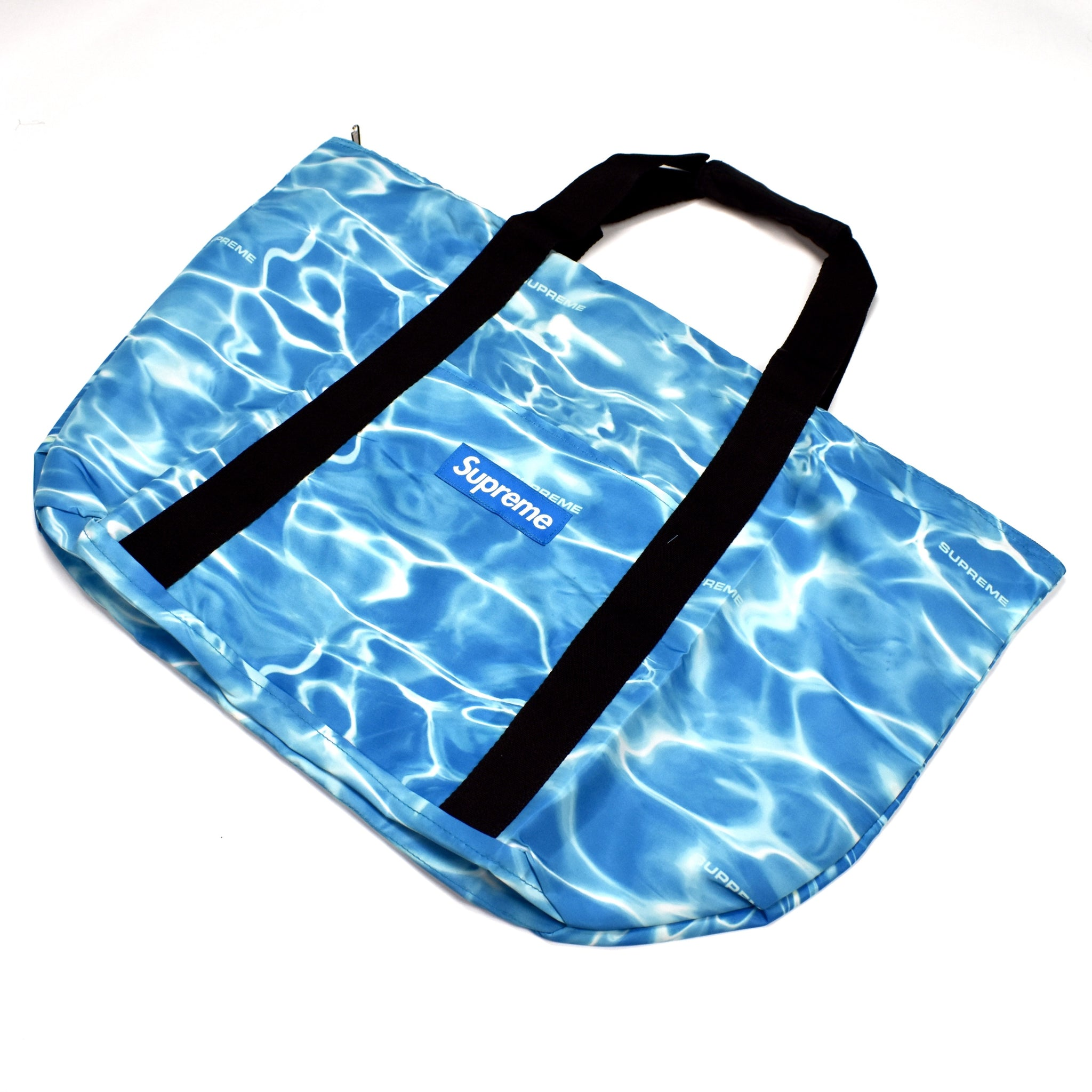 Supreme - Blue Box Logo Ripple Tote