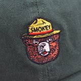 Noah - Green Smokey the Bear Hat