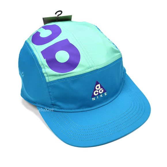 Nike ACG - Teal Retro Logo Colorblock Hat