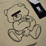 Undercover - Beige Bear Logo Tote Bag