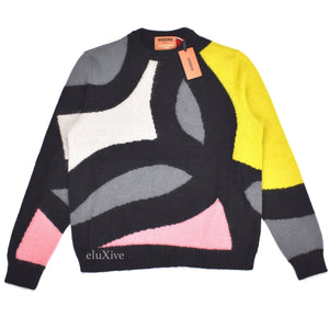 Missoni - Limited Edition Abstract Knit Mohair Sweater