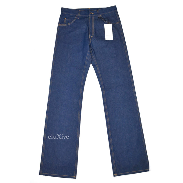 Gucci - Japanese Denim Wide Leg Jeans