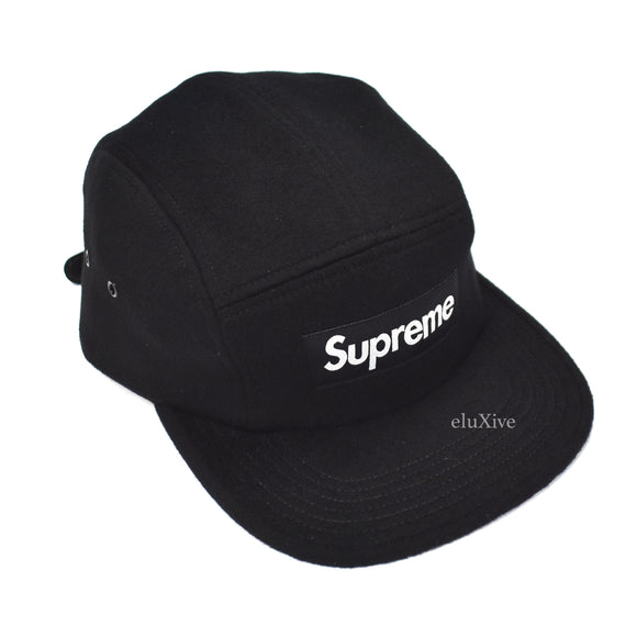 Supreme x Loro Piana - Black Box Logo Wool Hat