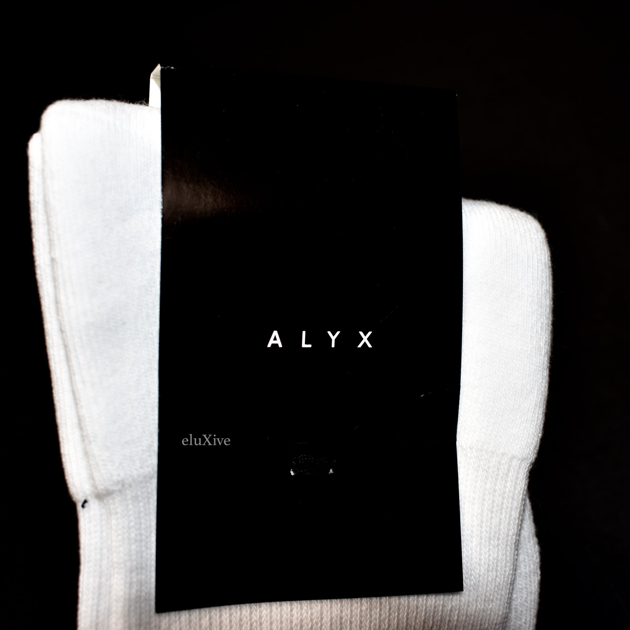 Alyx Studio - White 8-Ball Logo Socks