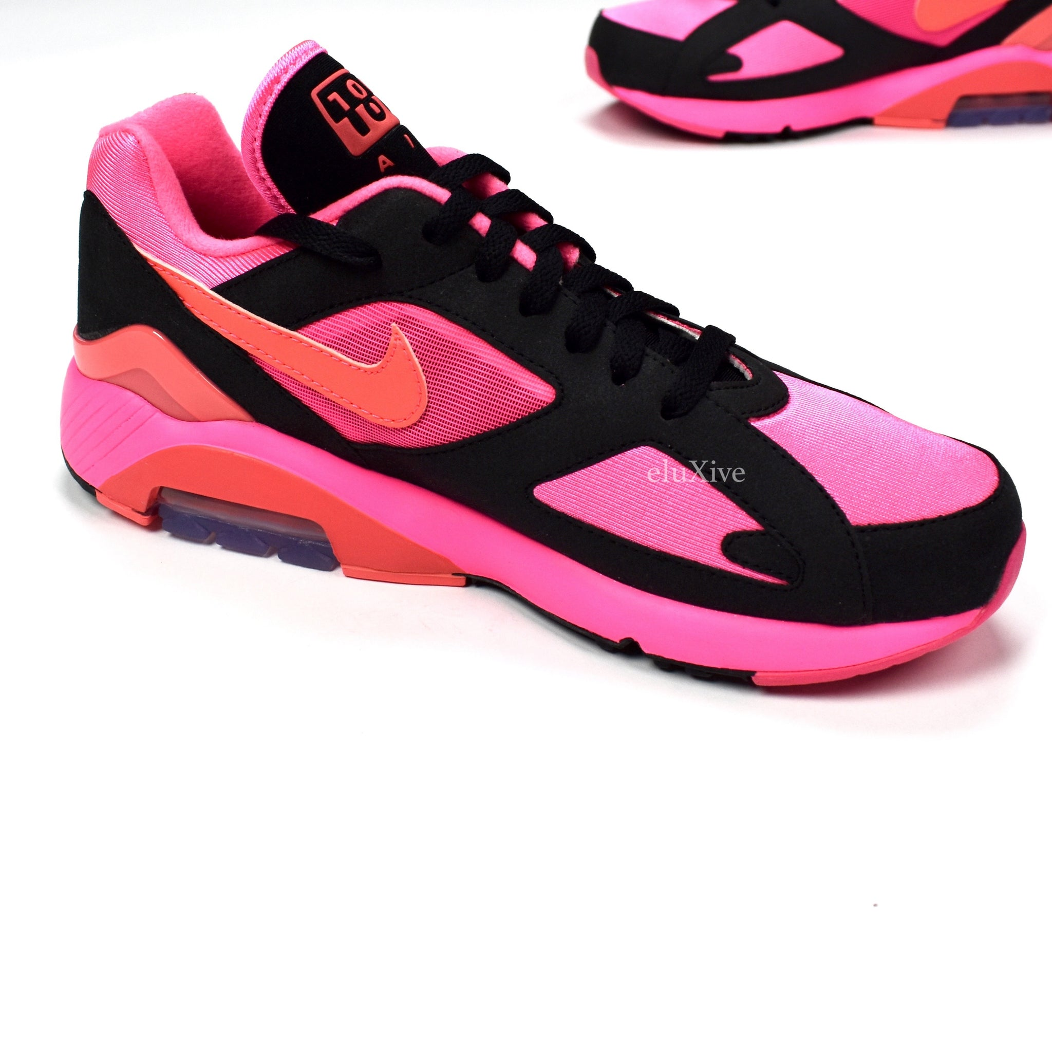 807cdc021464 Comme des Garcons x Nike - Men s Air Max 180 CDG (Black   Pink ...