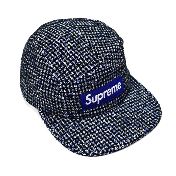 Supreme - Blue Box Logo Houndstooth Hat