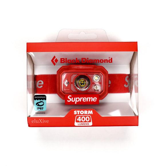 Supreme x Black Diamond - Red Box Logo Storm 400 Headlamp