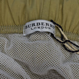 Burberry - Solid Beige Swim Trunks