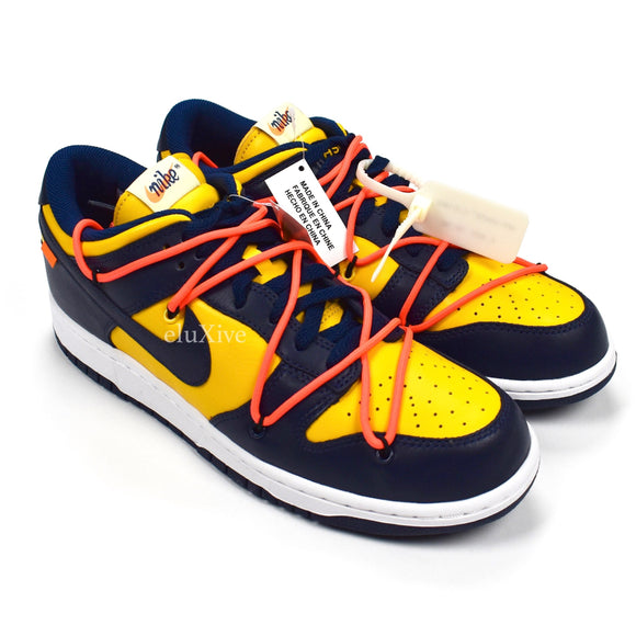 Nike x Off-White - Dunk Low OW 'Michigan'