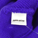 Fucking Awesome - Purple F.A. Records Logo Beanie