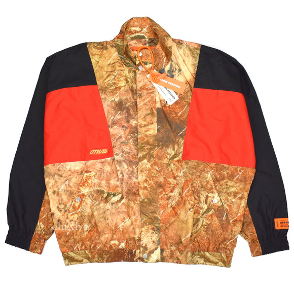Heron Preston - Rock Print Butterfly Track Jacket