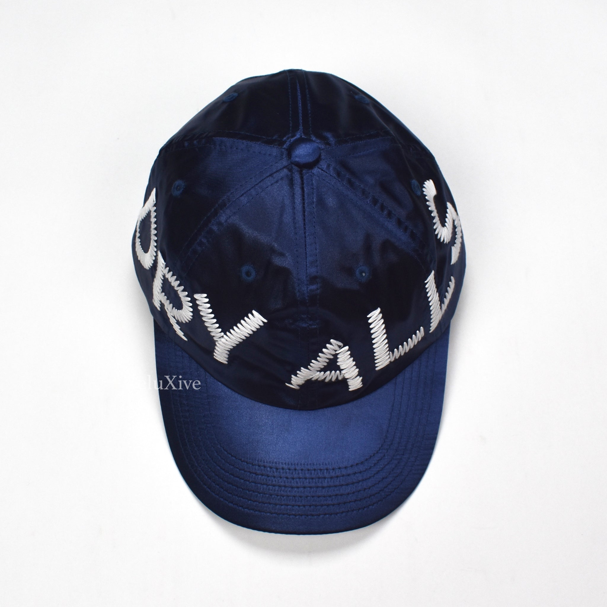 Cactus Plant Flea Market x Human Made - Navy Satin Hat