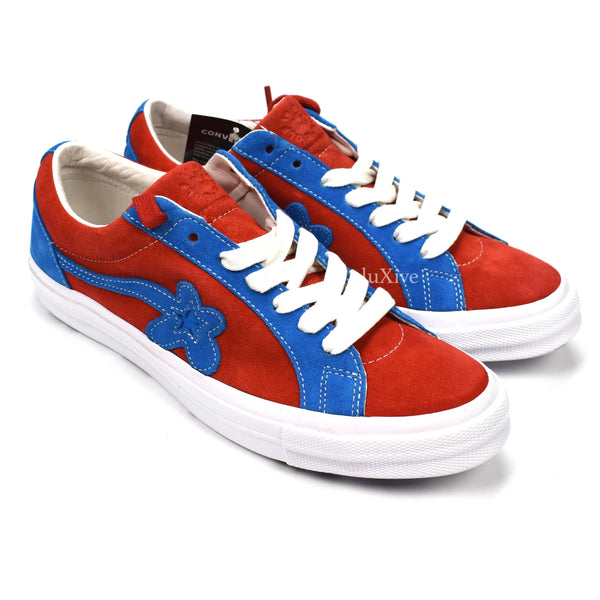 Converse - Golf Le Fleur Sneakers (Red/Blue)