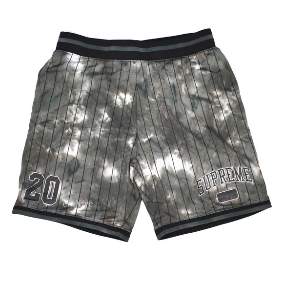Supreme - Dyed Arc Logo Basketball Shorts (Black)