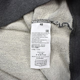 Maison Margiela - Gray 1/2 Zip Elbow Pad Sweatshirt