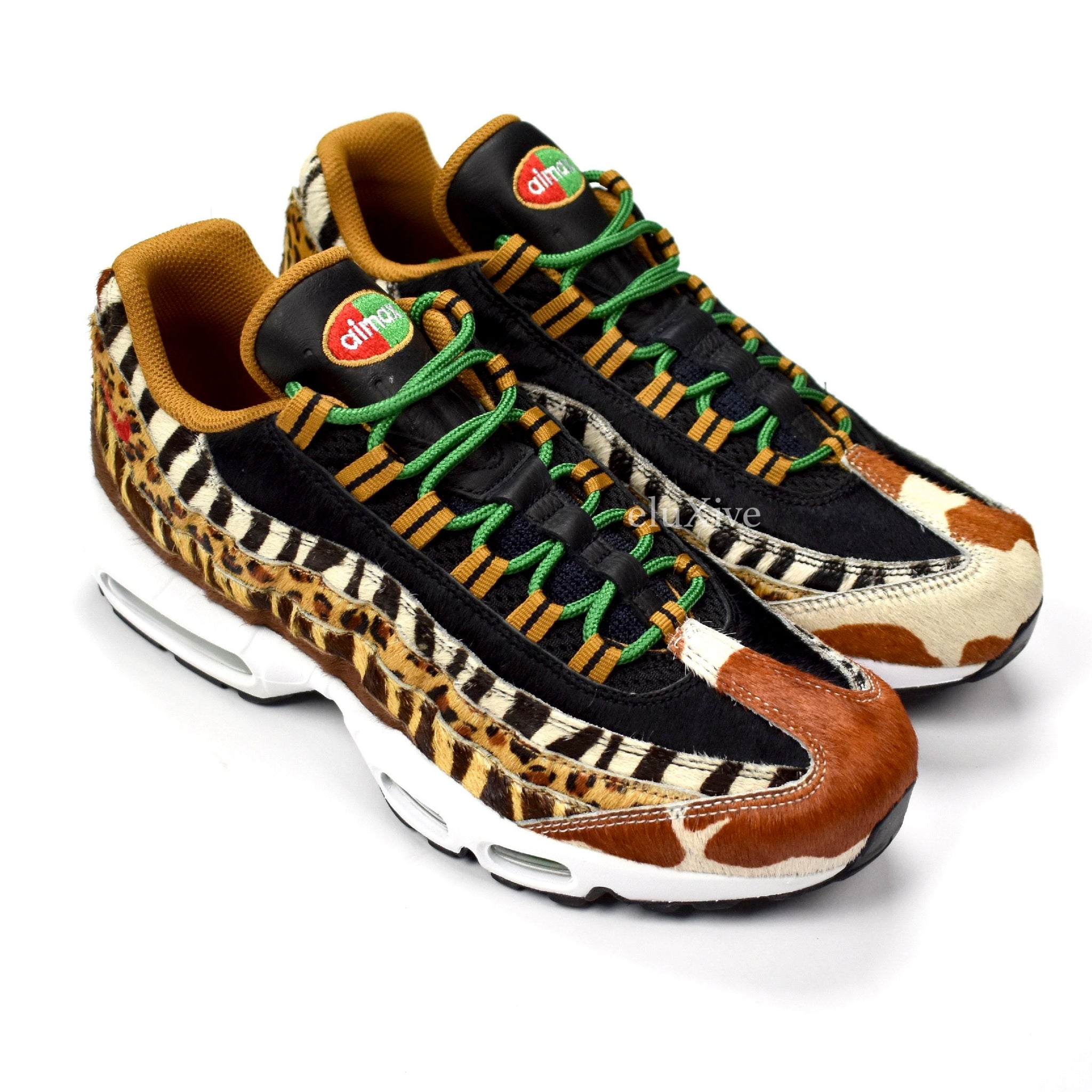 best service b6745 26fed Nike x Atmos - Air Max 95 DLX Animal Pack