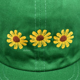 Online Ceramics - Green Sunflower Logo Embroidered Hat