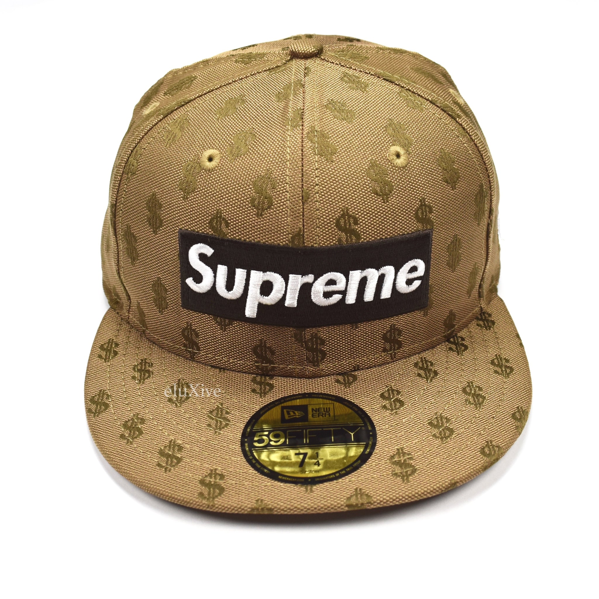 931a51fd Supreme x New Era - SS18 Brown Box Logo Monogram 59FIFTY Fitted Cap ...