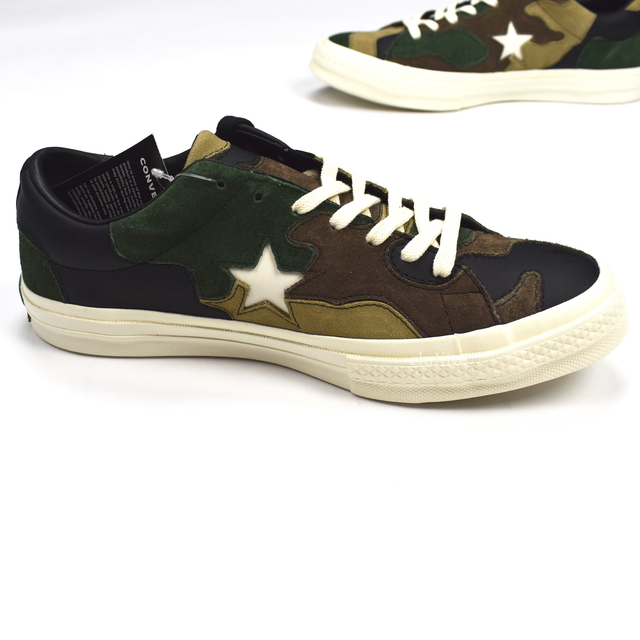 Converse x Sneakersnstuff - One Star Patchwork Camo Sneakers