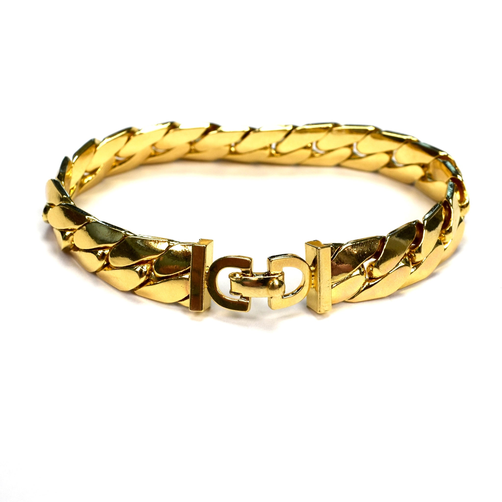 bracelet yellow solid wide bangle shop gold