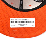 Supreme x New Era - Orange Box Logo Mesh Hat