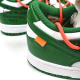 Nike x Off-White - Dunk Low OW 'Pine Green'