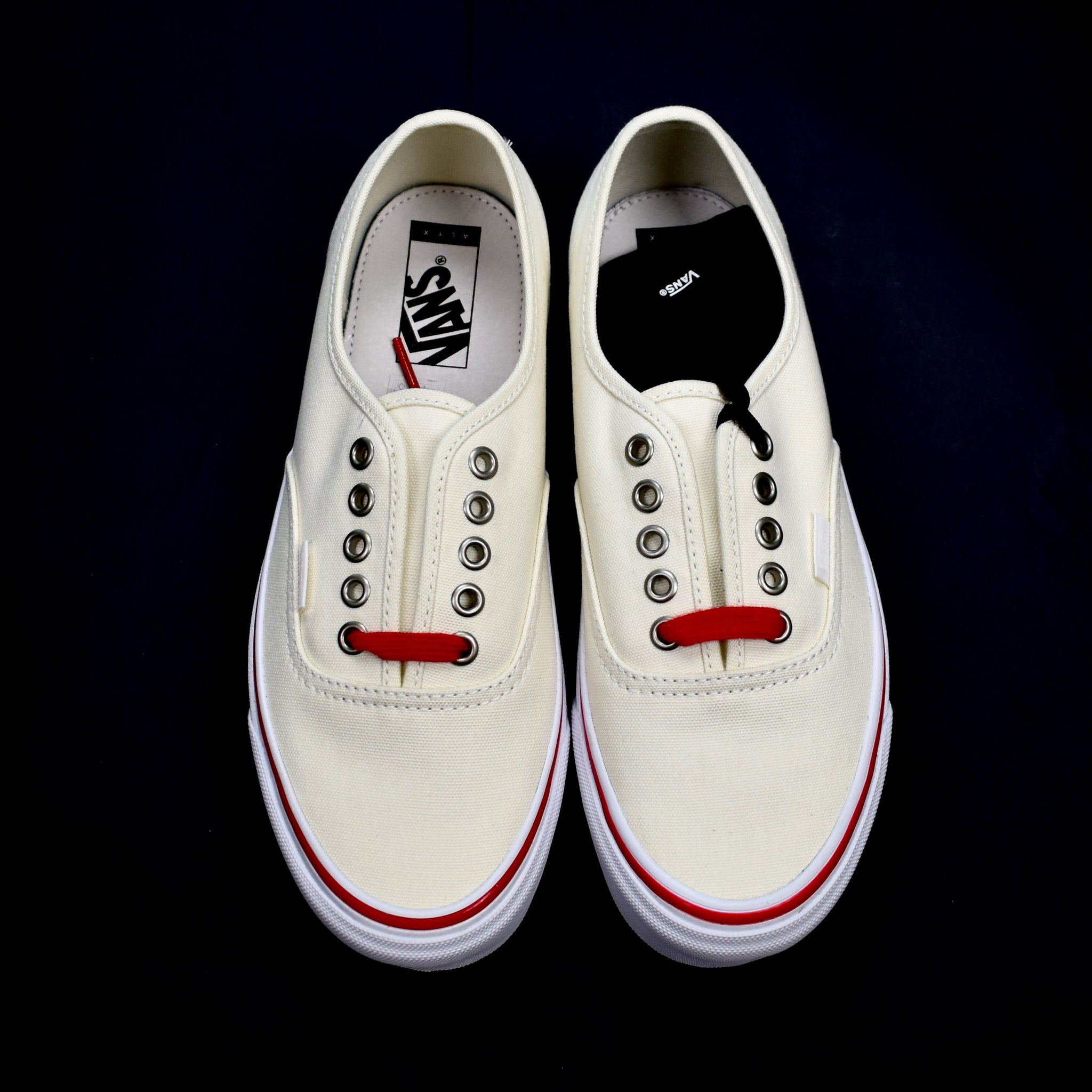 Alyx x Vans - OG Authentic LX (White/Red)