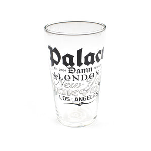 Palace - Logo Print Pint Glass