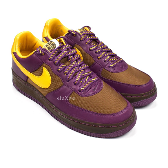 Nike - Air Force 1 Low Inside Out (Bison/Purple)