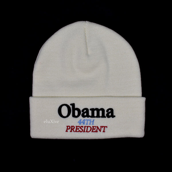 Supreme - Obama Logo Beanie (Natural)
