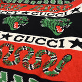 Gucci - Snake & Dragon Logo Knit Cardigan