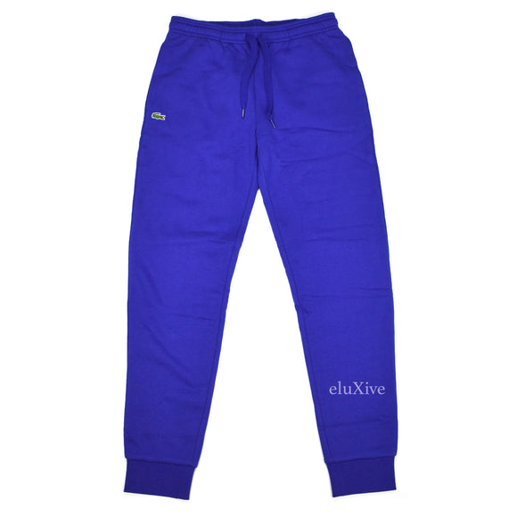 Lacoste - Blue Croc Logo Sweatpants (Tapered)