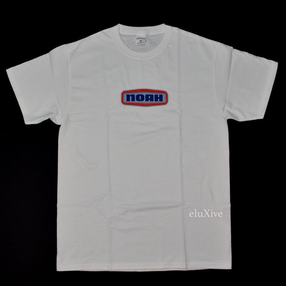 Noah - White Gas Station Logo T-Shirt