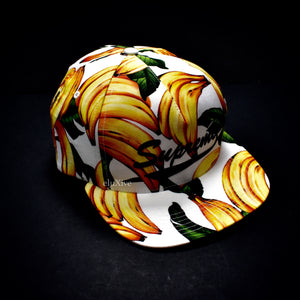 Supreme - White Banana Print Hat