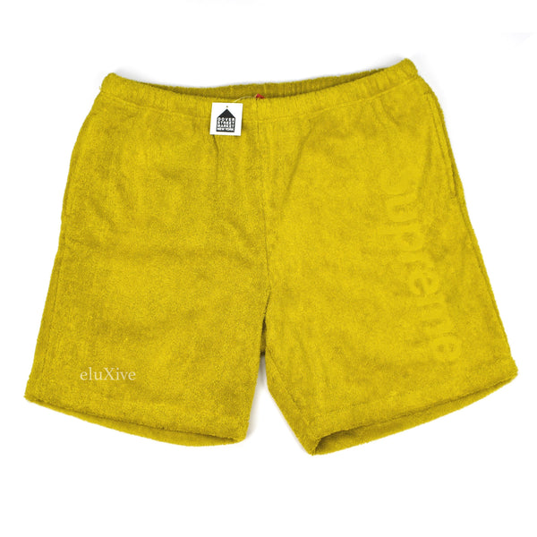 Supreme - Sulphur Box Logo Terry Shorts