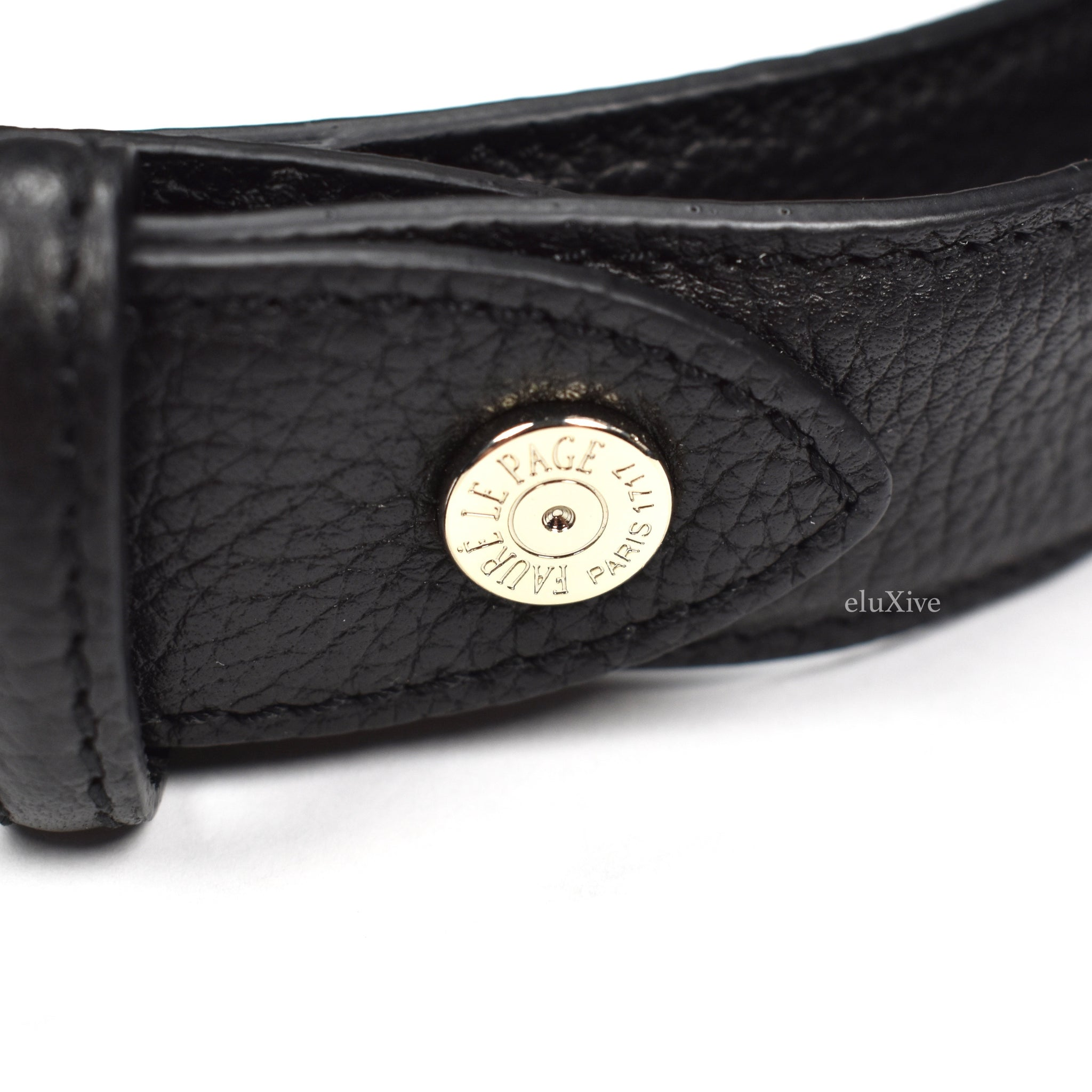 Faure Le Page - Steel Gray / Black Signature Belt