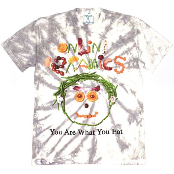 Online Ceramics - You Are What You Eat Tie-Dye T-Shirt