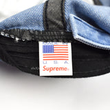 Supreme - Denim Interstate 94 Logo Hat (Blue)
