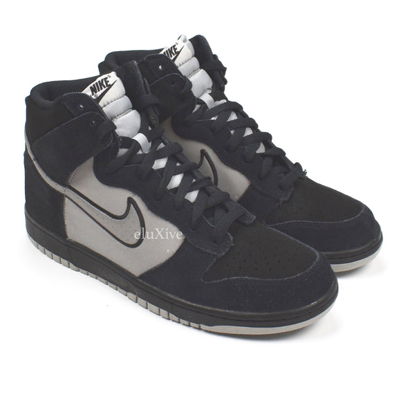 Nike - Dunk High (Black/Reflective Silver)