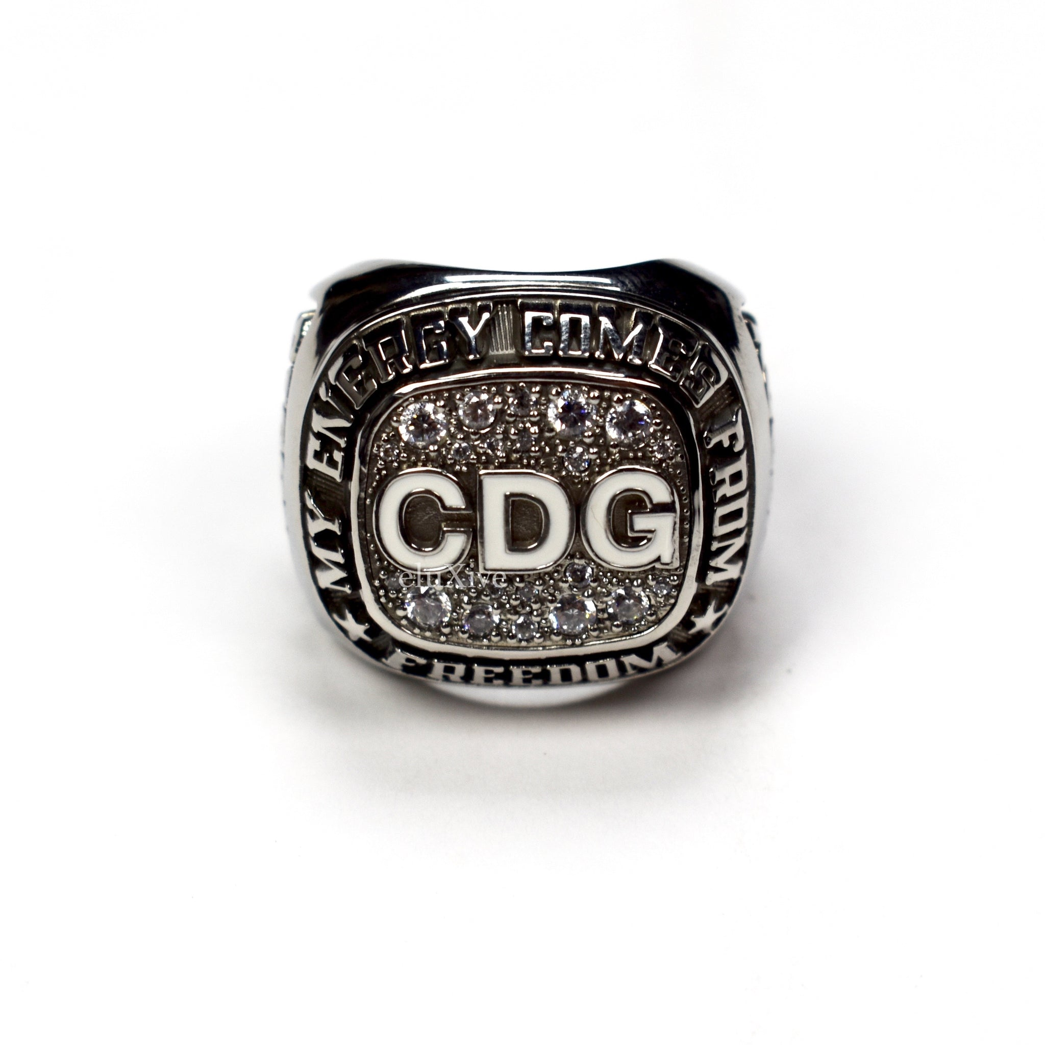 Comme Des Garcons - CDG Championship Crystal Ring
