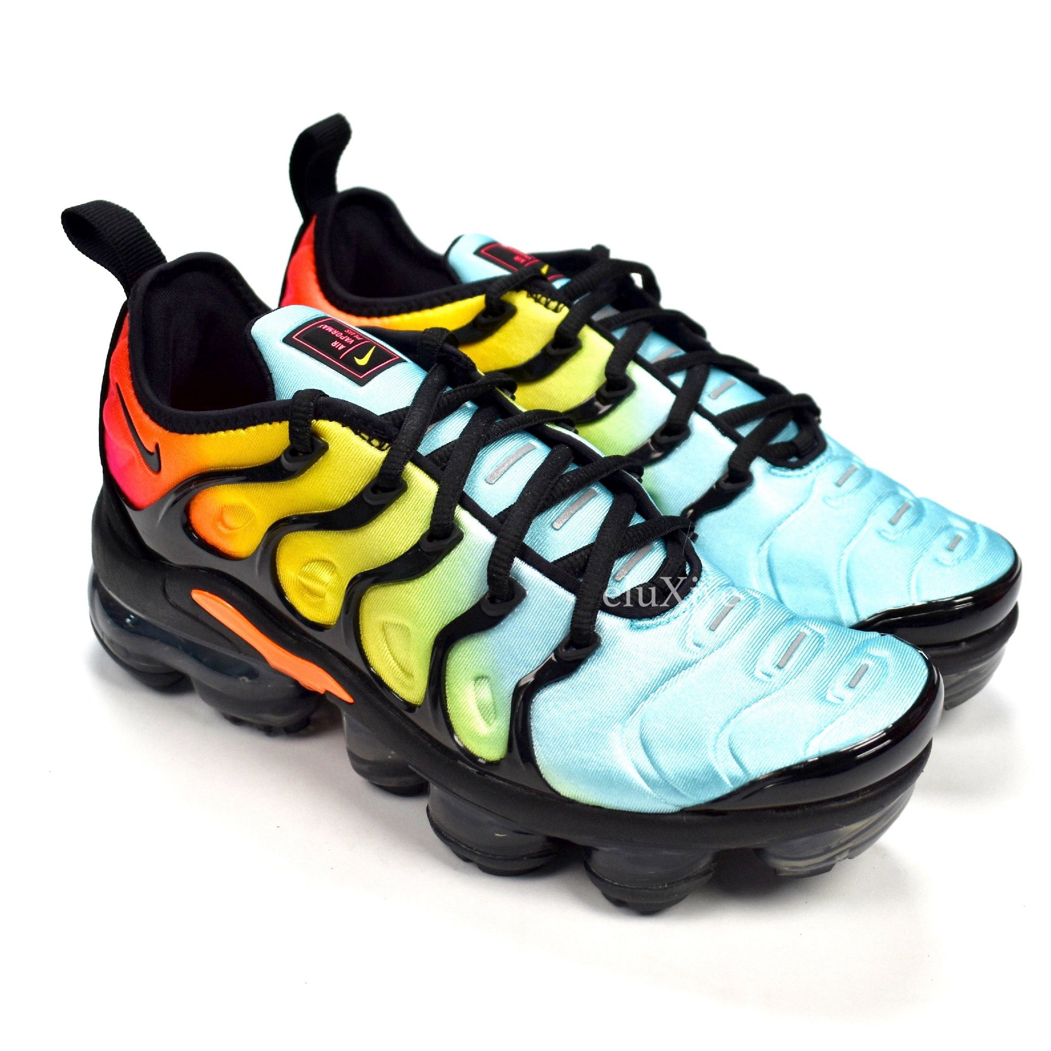Nike - Women s Air Vapormax Plus Rainbow   Sunset Fade – eluXive 7f2e452d0